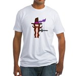 Baconeteer Fitted T-Shirt