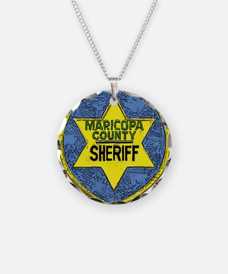 Maricopa County Sheriff patch Necklace