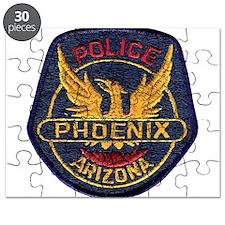 Phoenix Police patch Puzzle