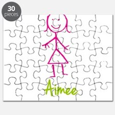 Aimee-cute-stick-girl.png Puzzle