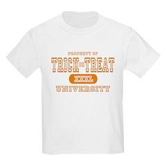 Trick or Treat University Kids T-Shirt