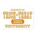 Trick or Treat University Postcards (Package of 8)