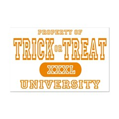 Trick or Treat University Posters