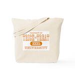 Trick or Treat University Tote Bag