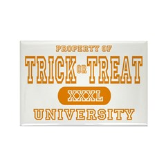 Trick or Treat University Rectangle Magnet