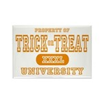 Trick or Treat University Rectangle Magnet (10 pac