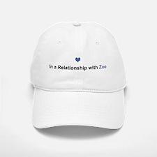 Zoe Relationship Baseball Baseball Cap