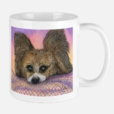 Cute Continental toy spaniel Mug