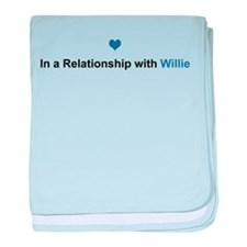 Willie Relationship baby blanket