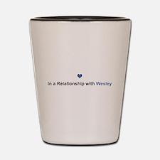 Wesley Relationship Shot Glass