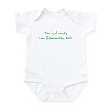 Fashionably Late Infant Bodysuit