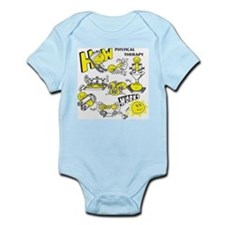 How physical therapy works Infant Bodysuit