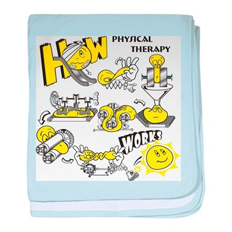 How physical therapy works baby blanket