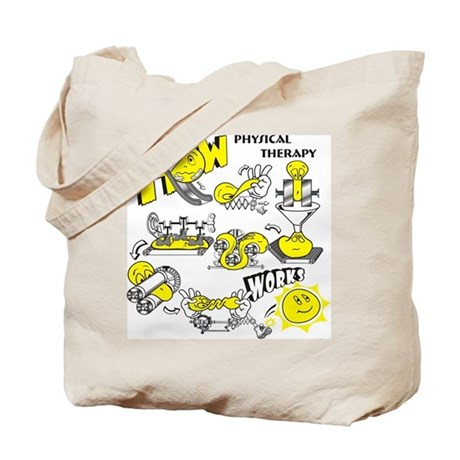 How physical therapy works Tote Bag