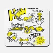 How physical therapy works Mousepad