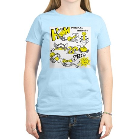 How physical therapy works Women's Light T-Shirt