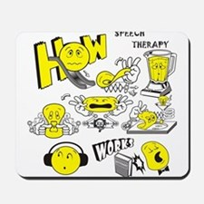 How Speech Therapy Works Mousepad