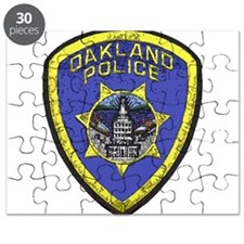 Oakland Police patch Puzzle
