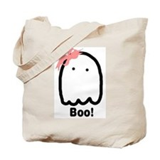 Boo! (Boy & Girl) Double-Sided Tote Bag