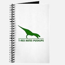 T-REX HATES PUSHUPS Journal