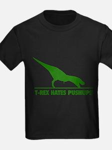 T-REX HATES PUSHUPS T