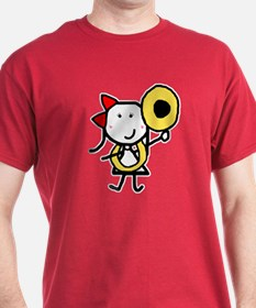 Tuba - Red Bow T-Shirt