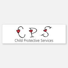 CPS Hearts Bumper Bumper Bumper Sticker