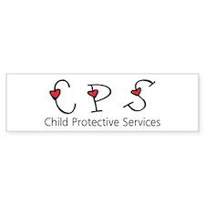 CPS Hearts Bumper Car Sticker
