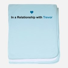 Trevor Relationship baby blanket