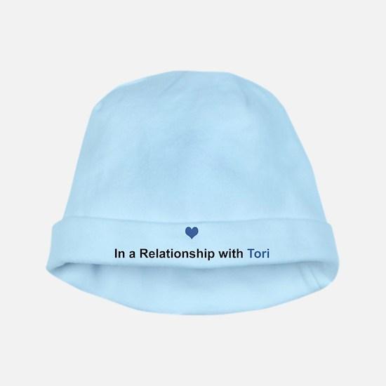 Tori Relationship baby hat