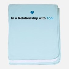 Toni Relationship baby blanket