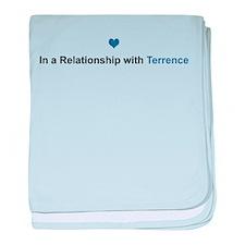 Terrence Relationship baby blanket