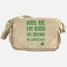 Funny Kiss Me I'm... Messenger Bag