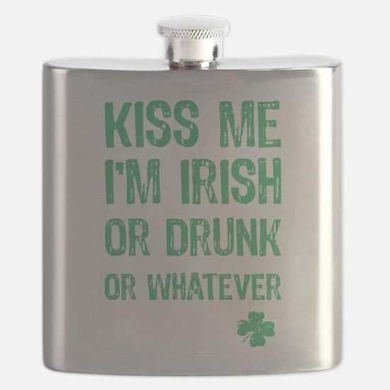 Funny Kiss Me I'm... Flask