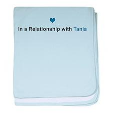 Tania Relationship baby blanket