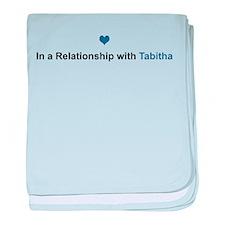 Tabitha Relationship baby blanket