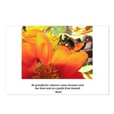 Rumi Bee Gifts Postcards (Package of 8)