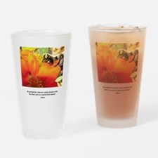 Rumi Bee Gifts Drinking Glass
