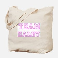 Pink team Haley Tote Bag