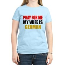 Pray Wife German T-Shirt