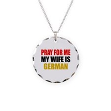 Pray Wife German Necklace