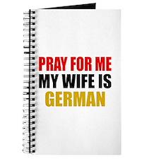Pray Wife German Journal