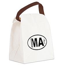 Massachusetts Minuteman Canvas Lunch Bag