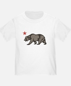 California Bear with star T