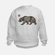 California Bear with star Sweatshirt