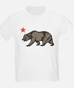 California Bear with star T-Shirt
