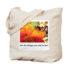 Bee the Change Gifts Tote Bag