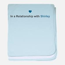 Shirley Relationship baby blanket