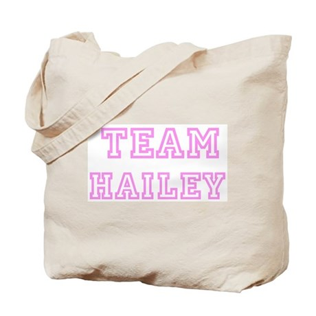 Pink team Hailey Tote Bag