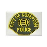 Compton Police Rectangle Magnet